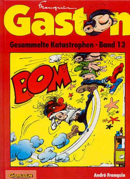Gaston 32 - Comic - Retro - Andre Franquin - Cartoon - Belgian