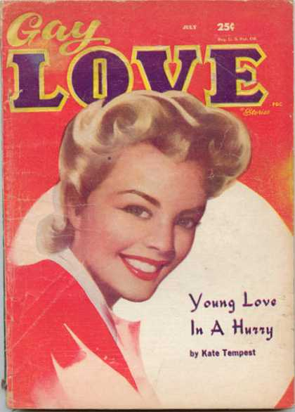 Gay Love Stories - 7/1958