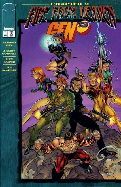 Gen13 11 - Comic - Chapter 9 - Fire From Heaven - Choi - Campbell - Alex Garner, Drew Geraci