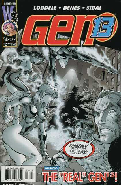Gen13 47 - Lobdell - Benes - Sibal - The Real Gen13 - Ed Benes