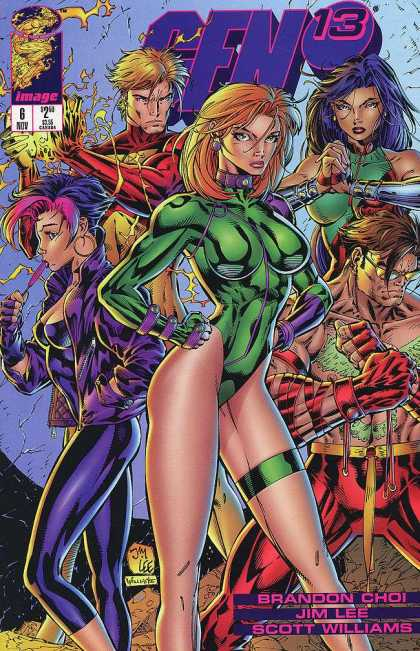 Gen13 6 - Super Heros - Justice League - Crime Punishers - Crime Stopers - Mutans - Jim Lee, Scott Williams