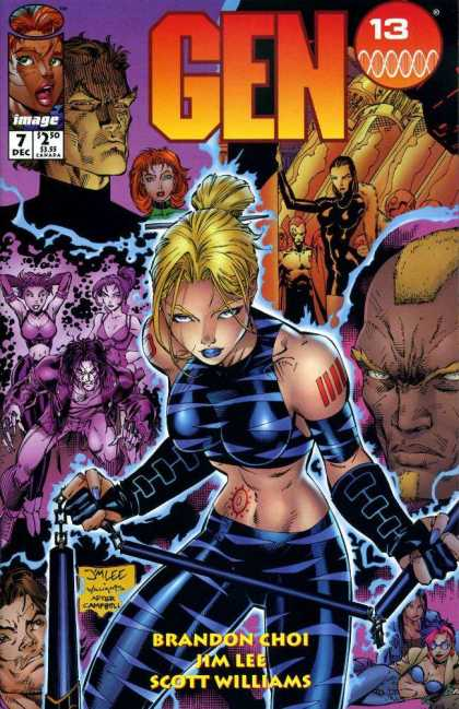 Gen13 7 - Jim Lee, Scott Williams