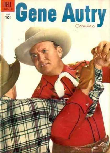 Gene Autry Comics 100 - Cowboys - Hat - Glove - Men - Belt