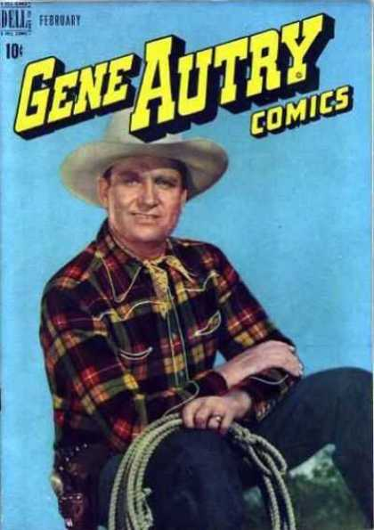 Gene Autry Comics 12 - Gene Autry - Dell Comics - Western - Lasso - Cowboy