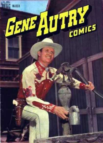 Gene Autry Comics 13
