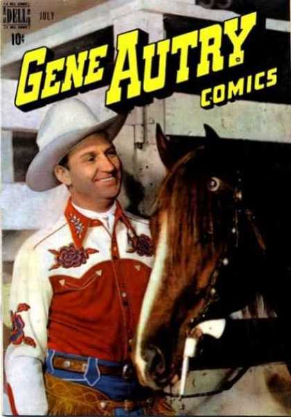 Gene Autry Comics 17 - Gene Autry - Horse - Cowboy - Western - Ranch