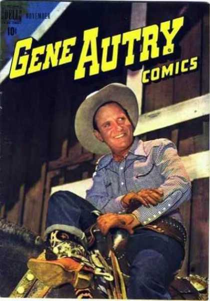 Gene Autry Comics 21