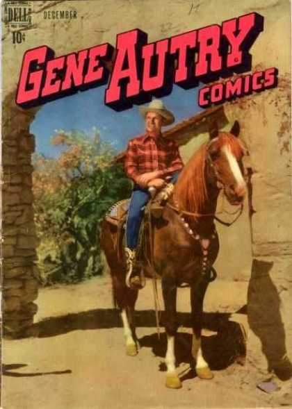 Gene Autry Comics 22