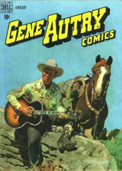 Gene Autry Comics 23