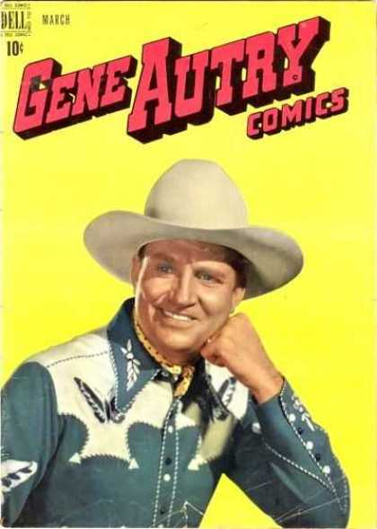 Gene Autry Comics 25