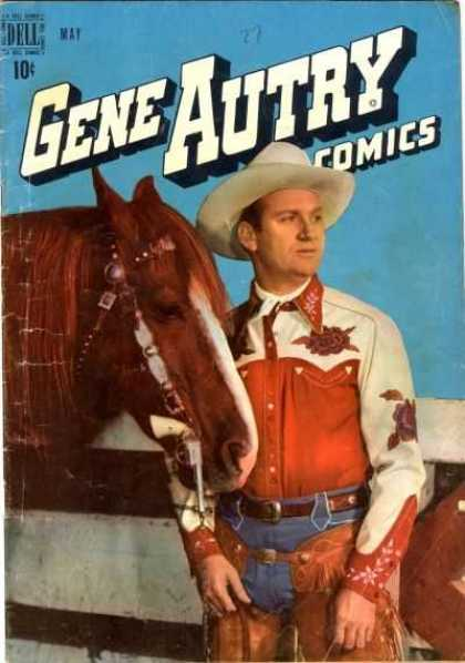 Gene Autry Comics 27
