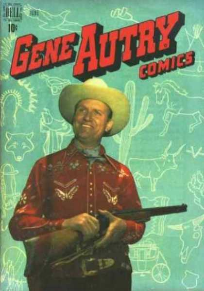 Gene Autry Comics 28