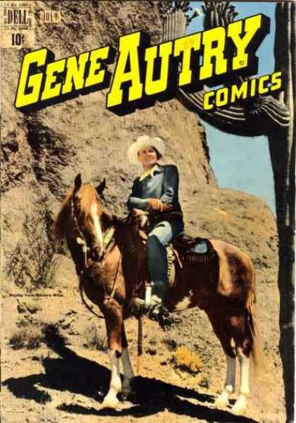 Gene Autry Comics 29