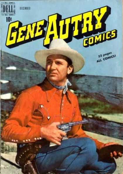 Gene Autry Comics 34