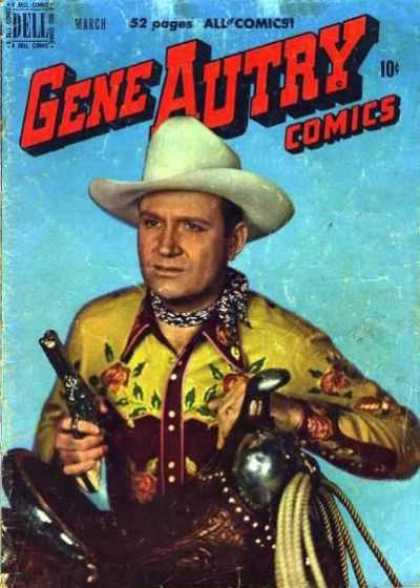 Gene Autry Comics 37