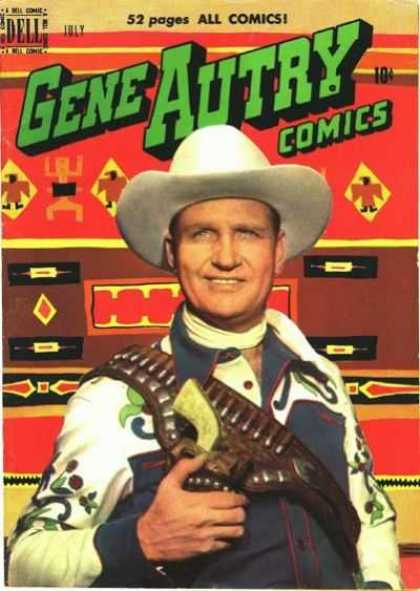 Gene Autry Comics 41 - Autry Comics - Gene Autry - Comic - Cap - Man