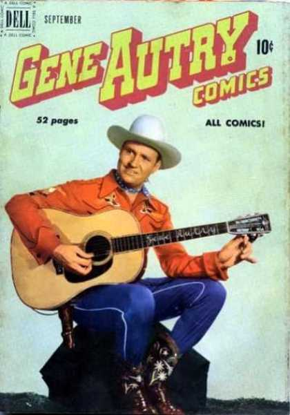 Gene Autry Comics 43