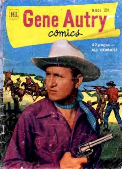 Gene Autry Comics 49