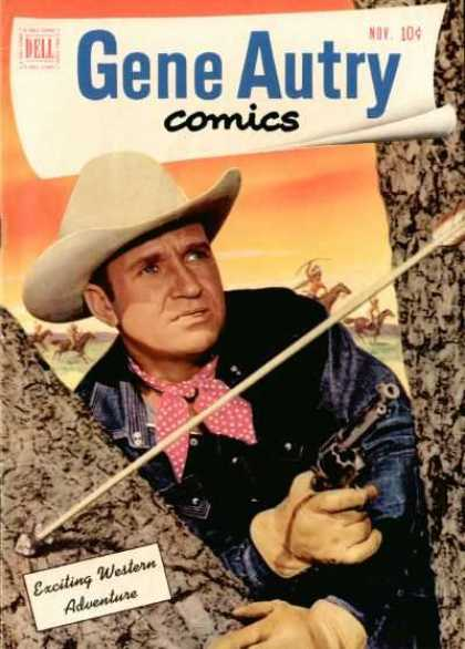 Gene Autry Comics 57 - Exciting - Western - Adventure - Dell - Nov