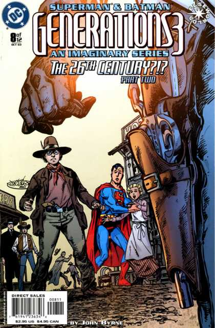 Generations 3 8 - Superman - Batman - The 26th Century - Gun - Cowboy