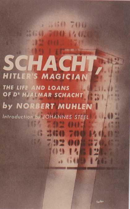 George Salter's Covers - Schacht, Hitler's Magician