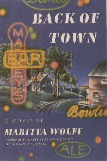 George Salter's Covers - Back of Town