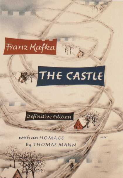 George Salter's Covers - Franz Kafka: The Castle