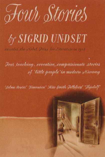 George Salter's Covers - Four Stories by Sigrid Undset