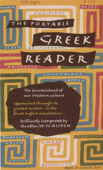 George Salter's Covers - The Portable Greek Reader