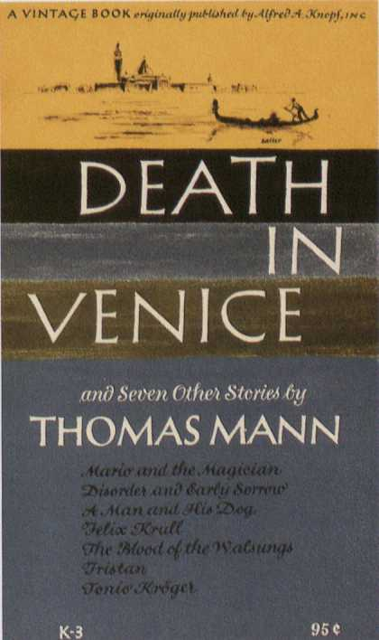 George Salter's Covers - Death in Venice