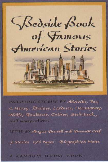 George Salter's Covers - Beside Book of Famous American Stories
