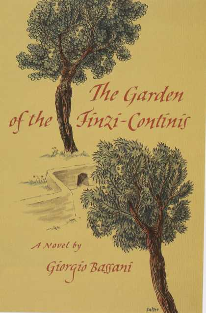 George Salter's Covers - The Garden of the Finzi-Continis