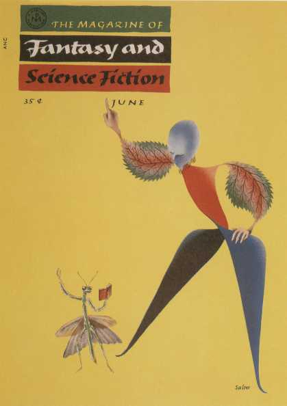 George Salter's Covers - The Magazine of Fantasy and Science-Fiction