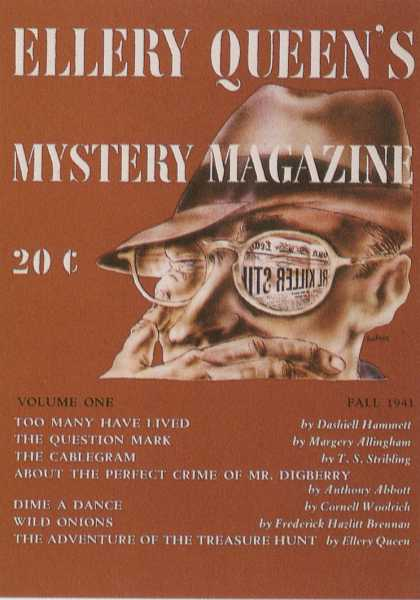 George Salter's Covers - Ellery Queen's Mystery Magazine