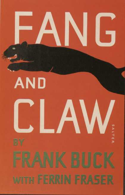 George Salter's Covers - Fang and Claw
