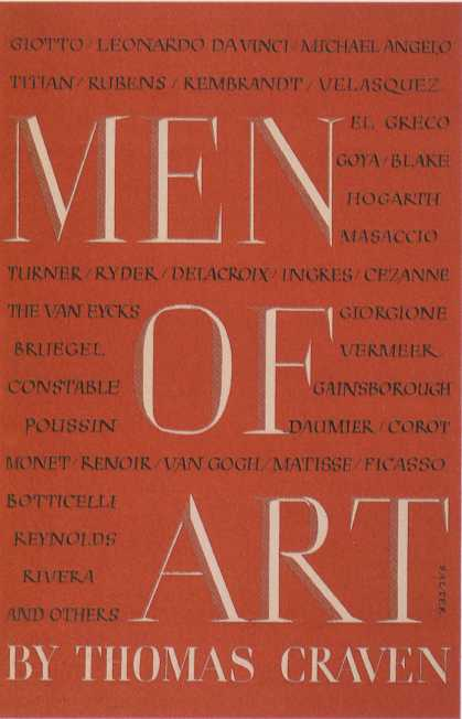 George Salter's Covers - Men of Art