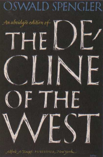 George Salter's Covers - The Decline of the West