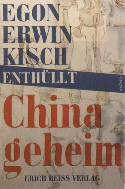 George Salter's Covers - China geheim - China's secret