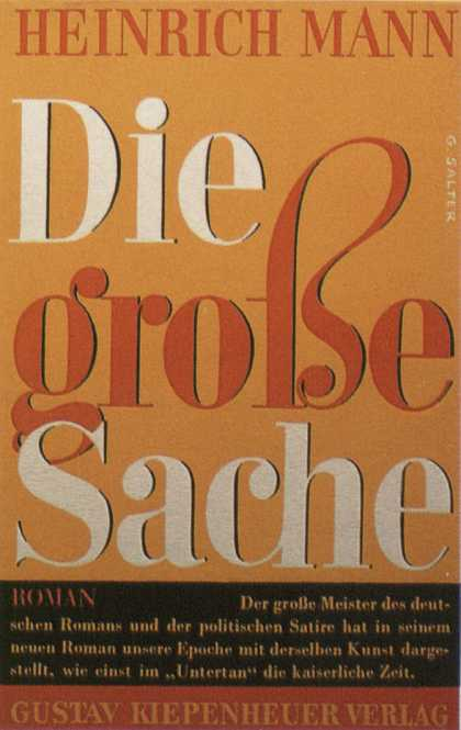 George Salter's Covers - Die große Sache - The Big Thing