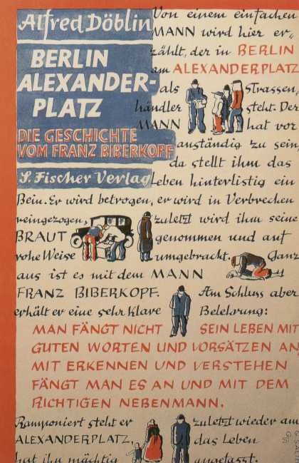 George Salter's Covers - Berlin Alexanderplatz