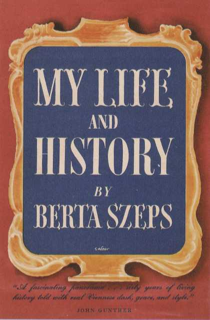 George Salter's Covers - My Life and History by Berta Szeps