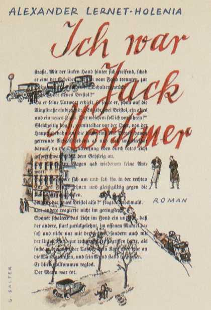 George Salter's Covers - Ich war Jack Mortimer - I was Jack Mortimer