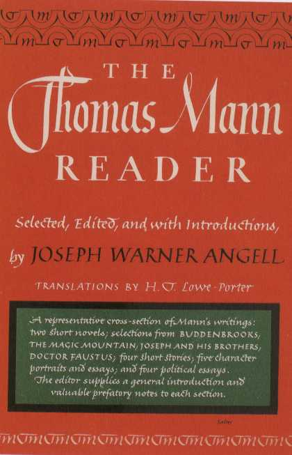 George Salter's Covers - The Thomas Mann Reader