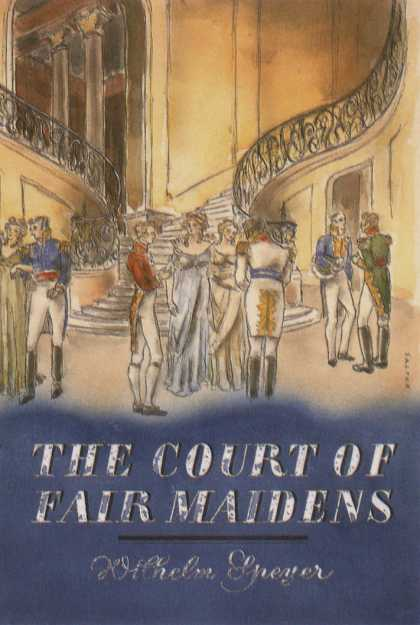 George Salter's Covers - The Court of Fair Maidens