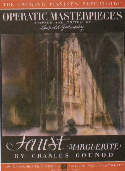 George Salter's Covers - Faust Marguerite