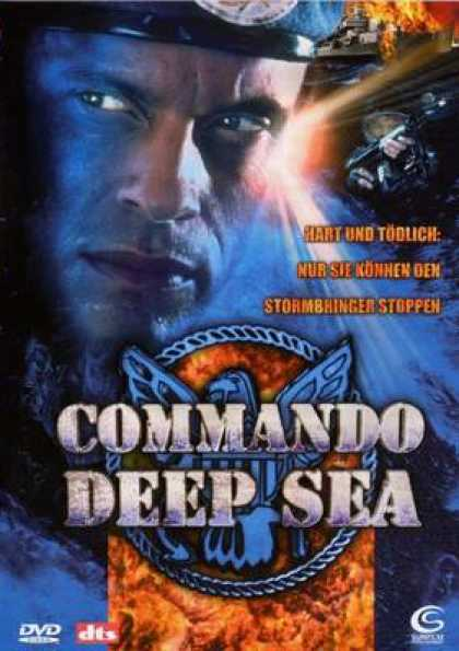 German DVDs - Commando Deep Sea