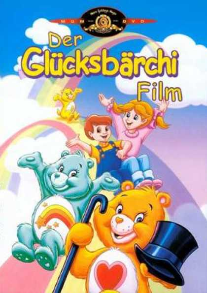 German DVDs - The Care Bears Movie