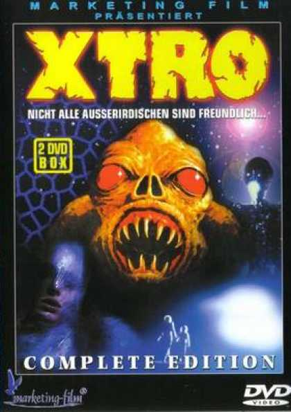 German DVDs - Xtro Complete
