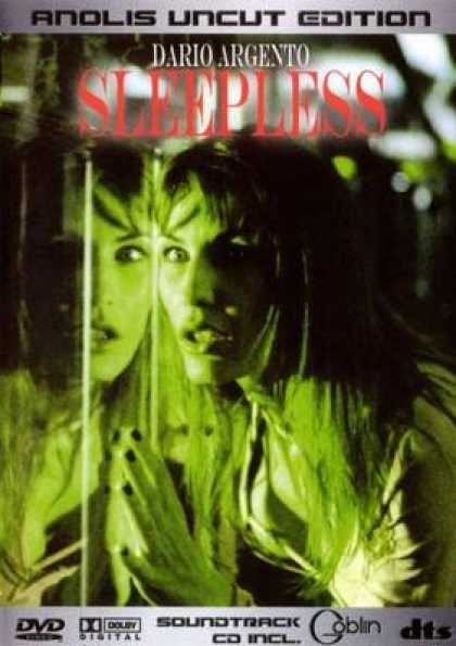 German DVDs - Sleepless Anolis Uncut