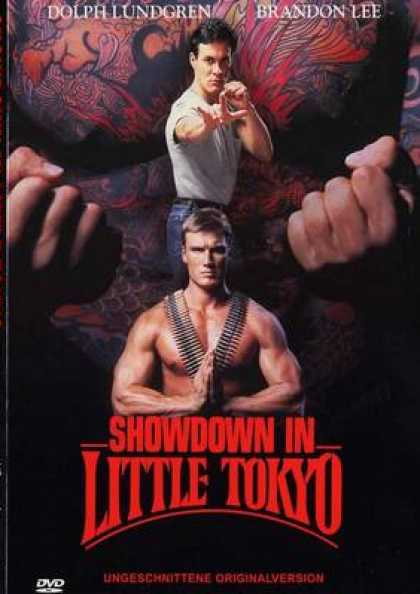 German DVDs - Showdown In Little Tokyo Uncut Version